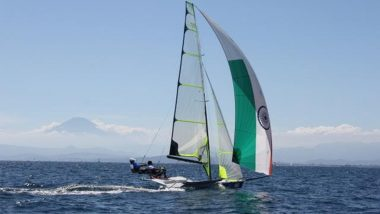 KC Ganapathy and Varun Thakkar at Tokyo Olympics 2020, Sailing Live Streaming Online: Know TV Channel & Telecast Details for 49er Men's Race 2, 3 and 4