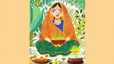 Harela 2021: Sakshi Singh Dhoni Wishes Happy Harela Celebrating Uttarakhand Folk Festival (View Pic)