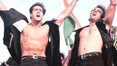 Sanjay Dutt Turns 62: Salman Khan Wishes 'Baba' on His Birthday With a Throwback Picture From Their Unreleased Film Dus!