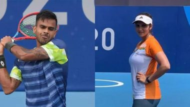 Sania Mirza & Sumit Nagal Fail to Make it For Mixed Double Event for Tokyo Olympics 2020 Due to Low Rankings