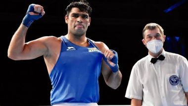 Satish Kumar Enters Quarterfinals After Defeating Ricardo Brown in Men's Superheavyweight (+91 kg) Preliminaries Round of 16 at Tokyo Olympics 2020