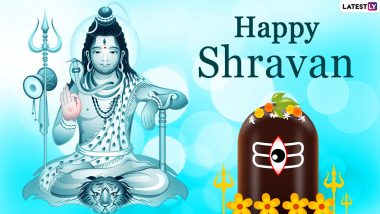 Happy Sawan Somvar 2021 Greetings & HD Images: WhatsApp Messages, Lord Shiva HD Wallpapers, Quotes, SMS and Wishes to Send on Holy Monday