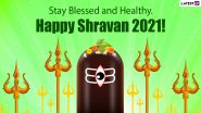 Sawan Maas 2021 Wishes & Greetings: Shravan Somvar HD Images, Lord Shiva Photos, GIFs and Wallpapers To Celebrate Auspicious Month