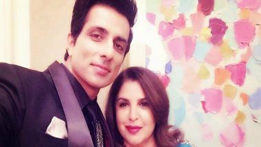 Entertainment News   Sonu Sood Collaborates with Farah Khan for a Song