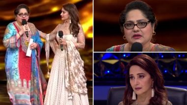 Shagufta Ali Gets Emotional As She Receives Financial Aid of Rs 5 Lakh From Madhuri Dixit on Behalf of Dance Deewane (Watch Video)