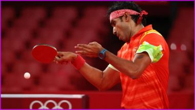 No Plan to Retire Anytime Soon, Says Sharath Kamal After his Tokyo Olympics 2020 Journey