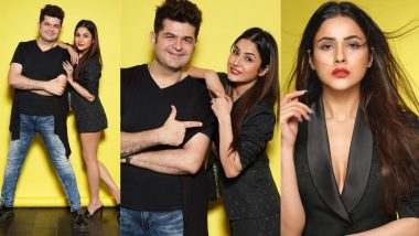Shehnaaz Gill Strikes a Pose With Dabboo Ratnani in These Pics Shared by Celebrity Fashion Photographer!