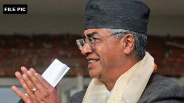 Nepal PM Sher Bahadur Deuba Thanks PM Narendra Modi for Congratulatory Message, Says 'Shared Views with Him on Further Strengthening Bilateral Ties'