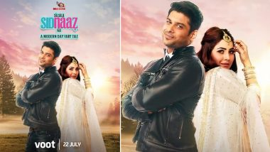 Silsila SidNaaz Ka: Sidharth Shukla and Shehnaaz Gill To Be Seen in a Modern Day Fairy Tale; Releasing on July 22 on Voot Select!
