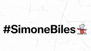 Simone Biles Emoji Screams GOAT! American Gymnast Becomes First Olympian To Receive Personalised Twitter Emoji