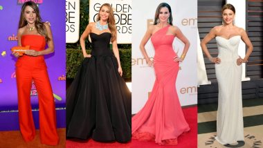 Sofia Vergara Birthday Special: Bombshell's Red Carpet Looks That Are Sexy and Stylish (View Pics)