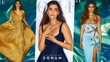 Sonam Kapoor Is Fashion Extraordinaire As She Poses for Vogue India's July 2021 Issue (View Pics)