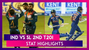 IND vs SL 2nd T20I Stat Highlights: Sri Lanka Level Series With Four Wicket Win