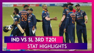 IND vs SL 3rd T20I Stat Highlights: Sri Lanka Defeat India To Win Series 2-1
