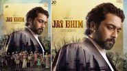 Jai Bhim: Suriya's 39th Film's First Look Poster Out; Actor Plays Lawyer in the Movie