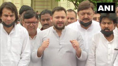 Bihar: Opposition Parties Will Boycott Entire Assembly Session, Says RJD Leader Tejashwi Yadav
