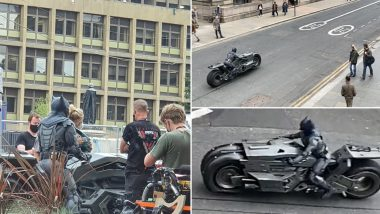 The Flash: Set Leaks Confirm That Ben Affleck Will Suit Up As Batman and Flaunt His New Ride (View Pics and Videos)