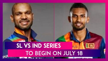 Sri Lanka vs India Series To Begin On July 18