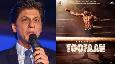 Shah Rukh Khan Reviews Farhan Akhtar's Toofaan, King Khan Is in Awe of Rakeysh Omprakash Mehra's Boxing Drama