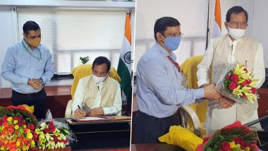 Shripad Naik Takes Charge as Minister of State for Tourism