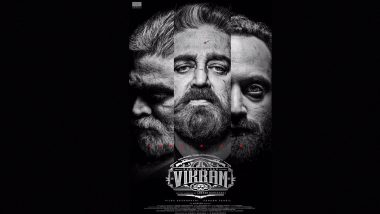 Vikram First Look Poster: Kamal Haasan, Vijay Sethupathi, Fahadh Faasil Look Intense (View Pic)