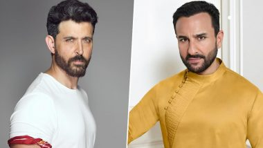 It's Official! Hrithik Roshan and Saif Ali Khan To Star in the Hindi Remake of Tamil Hit 'Vikram Vedha'