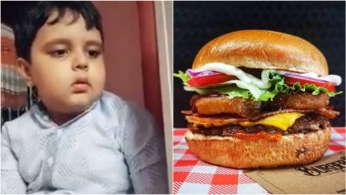 Viral Video of This Adorable Kid Getting All Grumpy on Not Getting Burger Is All of Us
