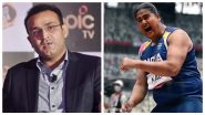 Virender Sehwag Hails Kamalpreet Kaur As She Makes Way in Finals of Discus Throw Event at Tokyo Olympics 2020