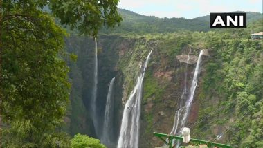 Jog Falls, Famous Waterfall in Karnataka, Dries Up Due to Less Rainfall in the Region (See Pics)