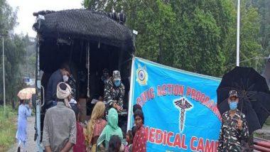 India News | CRPF Organises Medical Camp in J-K's Ganderbal for People Facing Breathing Problems