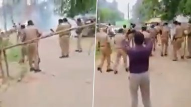 UP Block Pramukh Elections: Widespread Violence in Various Districts on Nomination Filing Day for Polls (Watch Video)