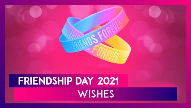 Friendship Day 2021 Greetings: Celebrate Special Day With Friends With Lovely Quotes and Messages