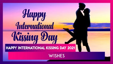 International Kissing Day 2021 Wishes for Him: WhatsApp Messages, HD Images and Romantic Greetings