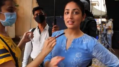 A Thursday: Yami Gautam Wraps Up Shoot of Upcoming Thriller Film; Shares Video From the Sets