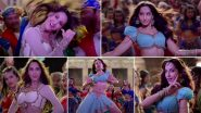 Bhuj Song Zaalima Coca Cola: Nora Fatehi Once Again Takes the Floor With Her Scorching, Desi Moves (Watch Video)