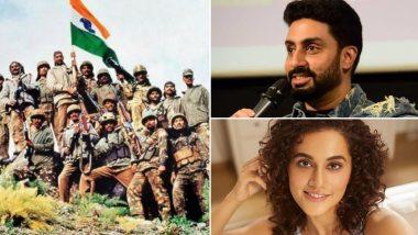 Kargil Vijay Diwas 2021: Abhishek Bachchan, Taapsee Pannu and Other Celebs Salute the Indian Soldiers!