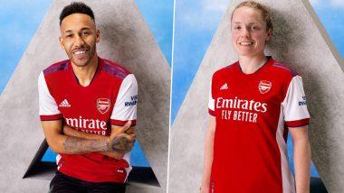 Arsenal Unveil New Home Kit Ahead of 2021–22 Season, Check Post
