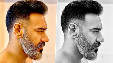 Ajay Devgn's Salt And Pepper Beard Look Is Neat And Dashing (View Pic)