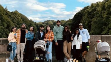 Anushka Sharma Posts a Picture With Virat Kohli, Athiya Shetty, KL Rahul and Team but It Is Her Caption That Is Winning Hearts