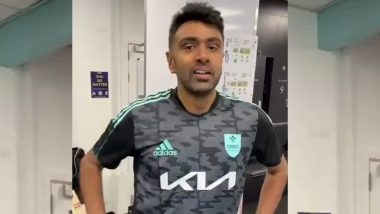 Ravi Ashwin to Play for Surrey vs Somerset in County Championship 2021, Indian Spinner Says 'Absolute Privilege to Represent the Team' (Watch Video)