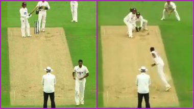 Ravi Ashwin Beats Devon Conway During Surrey vs Somerset 2021 County Championship Match (Watch Video)