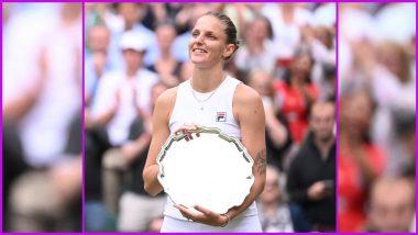 Ashleigh Barty Wins Wimbledon 2021 Women's Singles Title, Defeats Karolina Pliskova in Final