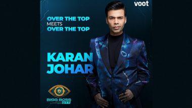 Bigg Boss OTT: Karan Johar to Host the New Season of Controversial Reality Show on Voot