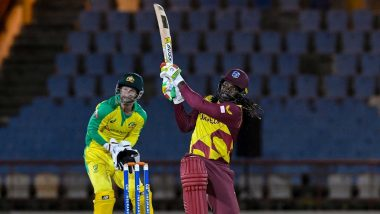 Netizens Hail Chris Gayle For Becoming First Batsman to Score 14,000 T20 Runs During WI vs AUS (Read Tweets)