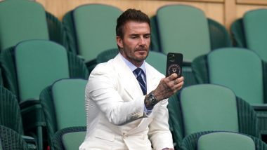 David Beckham Spotted at Wimbledon 2021, Pictures Go Viral