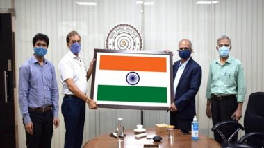 India News | Advanced Textile Solution for Tricolour Developed by IIT Delhi Startup, Flag Foundation of India