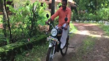 Kerala Man Builds Bicycle From Scrap With Look of Bike Amid Fuel Price Hike