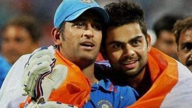 Virat Kohli Posts a Picture of Himself With MS Dhoni from 2011 World Cup, Says  'Happy Birthday Skip'