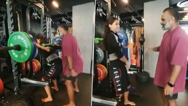 Disha Patani Deadlifts 80 Kilos of Weight and the Video Will Make You Say Wow!