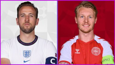 How To Watch England vs Denmark, Euro 2020 Live Streaming Online On SonyLiv: Free Telecast of European Championship Semi-Final Match on Sony Sports TV Channel in India